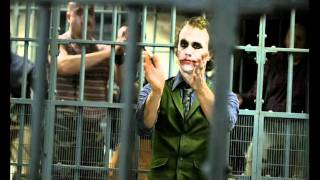 heath ledger haciendo el joker