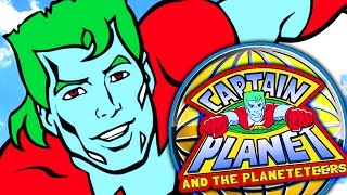 Minecraft | CAPTAIN PLANET & THE PLANETEERS in 2 Commands | Tree Bow, Super Power Rings, & More!