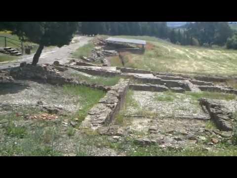 Ruinas romanas de Mir�briga Santiago do Cac�m Portugal