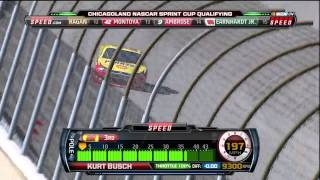 [HD] Kurt Busch - Chicago Geico 400 2011 Qualifying Lap