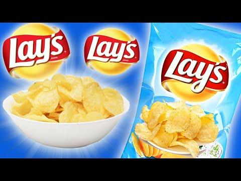 Как приготовить чипсы в микроволновке - видео