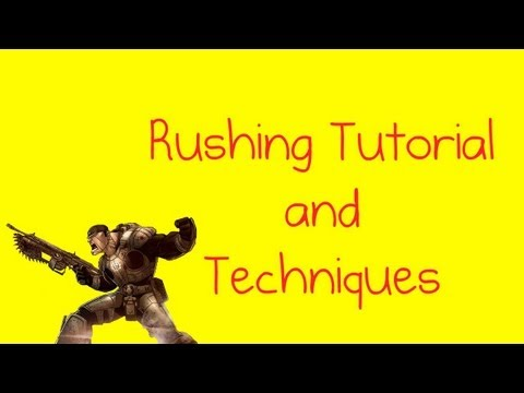 GoW 3 Tips and Tactics - Improving Your Rushing Techniques (Gears of War 3 Pushing Tutorial)