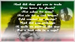 Alpha Blondy - Wish you were here - Pink Floyd Cover - With lyrics !!
