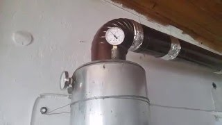New boiler stove heating system (sobadan kalorifer) ...update...
