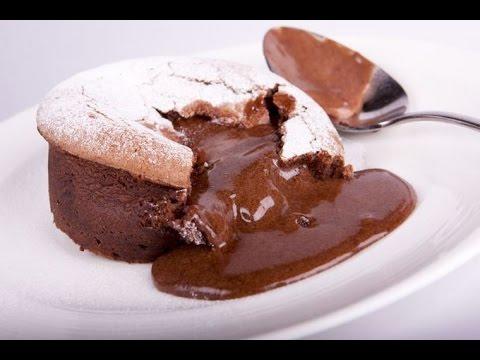 Chocolate Lava Cake / Cokoladni LAVA mafin / Шоколадное суфле ЛАВА