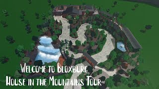 House in the Mountains Tour - Roblox - Welcome to Bloxburg