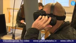 CSDD ar virtuālo realitāti izaicina autovadītājus Jēkabpilī