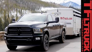 2015 Ram 2500 Cummins take on the grueling Ike Gauntlet towing review