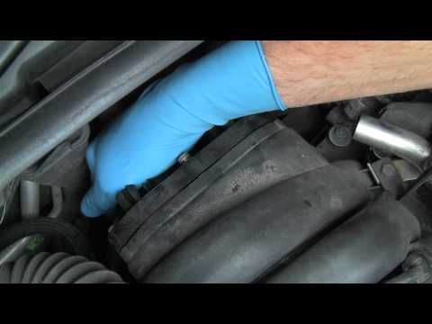 Replacing the PCV System on a BMW V8 Engine Part 2 of 2