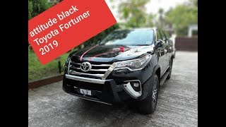 Walkaround and review of The Toyota Fortuner 2019