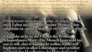 Albert Einstein - Mein Glaubensbekenntnis (1932)