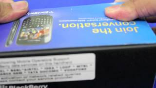 Blackberry Curve 9220 Unboxing