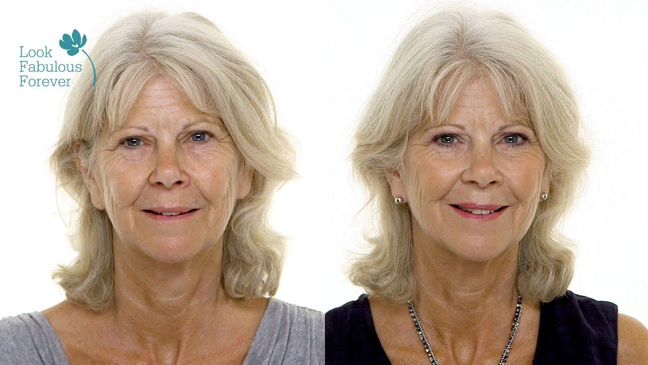 Eye makeup older women
