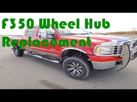 Ford F350 wheel bearing replacement
