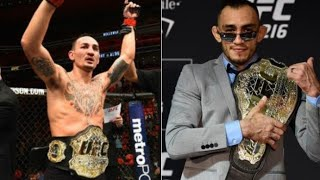 **BREAKING NEWS** MAX HOLLOWAY VS TONY FERGUSON TITLE FIGHT❗❗❗