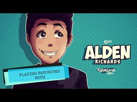 Playing 'favorites' with Alden Richards