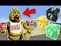 KORKUNÇ TAVUK CHICA VS ŞANS BLOKLARI - Minecraft