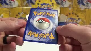 BREAKING THE SEAL!  Original Pokemon BASE SET BOX Part 2 (33 packs)