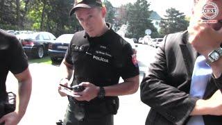 Vlna nezákonných zásahov proti novinárom pokračuje! Nelegálne cely
