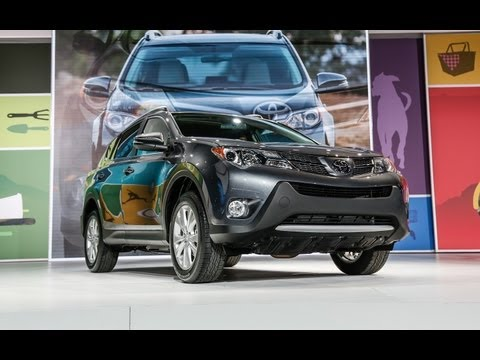 2013 Toyota RAV4-First Look! Big Changes for Small Sport Utility