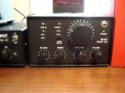 Ten-Tec T1253 REGENERATIVE SHORTWAVE RADIO KIT - CW RECEPTION