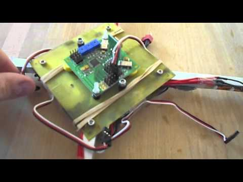 HobbyKing Quadcopter Control Board - review and basic setup