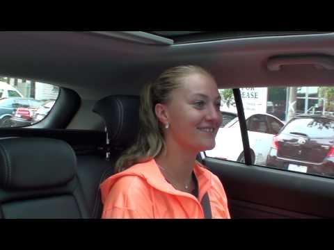Kristina Mladenovic: Kia Open Drive