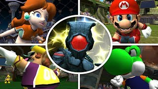 Super Mario Strikers - All Character Intros