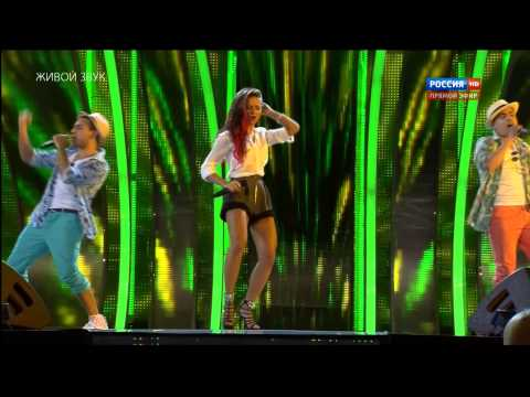 Новая Волна 2013 Нюша & Санта Барбара Россия)   ''Акапулькo'' HD