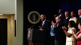 President Obama on Extending Middle-Class Tax Breaks