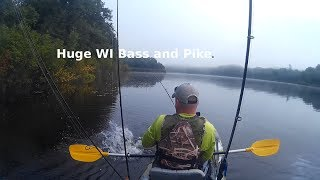 Small Water | Big Fish | Northern WI Huge Bass and Pike