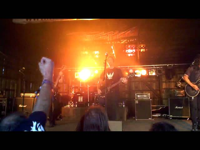"Anvil Chorus - ""Deadly Weapons"" (excerpt)  (Headbangers Open Air, Germany - July 31, 2010)"