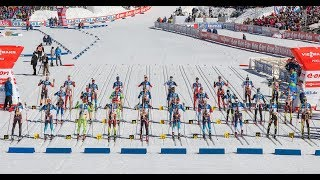 BIATHLON MEN SPRINT 15.03.2018 World Cup 8 Holmenkollen (Norway)