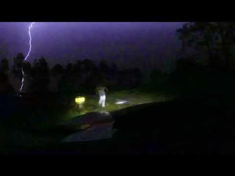 Almost struck by lightning!!!!!!!!