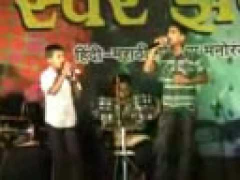 SANKET-SEBI SINGING-ZOOM BARABAR AND DIL DA MAMLA