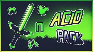 ❤️MINECRAFT PVP TEXTURE PACK - ACID PACK❤️