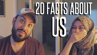 20 FACTS ABOUT US ! Husband & Wife Tag
