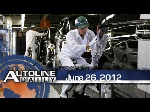 More Production Leaves Japan - Autoline Daily 919