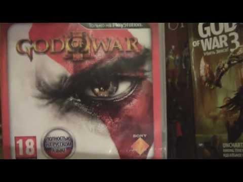 Распаковка God of War 3 Artbook edition
