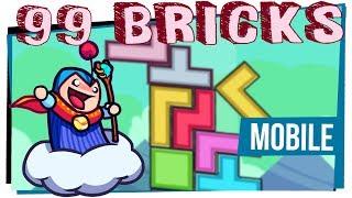 99 Bricks - Tetris tudo torto - Mobile - Grátis pra Android e IOS - Game Over
