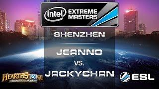 Jeanno vs. JackyChan - Quarterfinals - IEM Shenzhen - Hearthstone