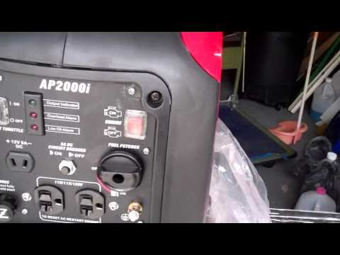 Smarter Tools inverter generator 2000 Watts AP2000I with Yamaha MZ80 engine