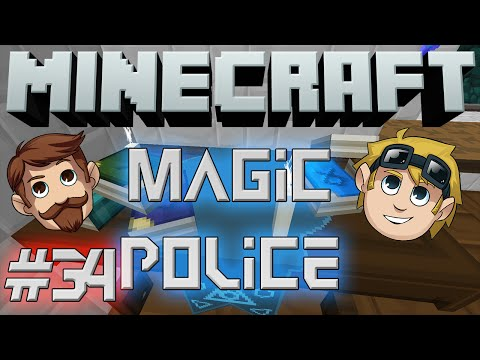 Minecraft - Magic Police #34 - Stuck In The Mud video