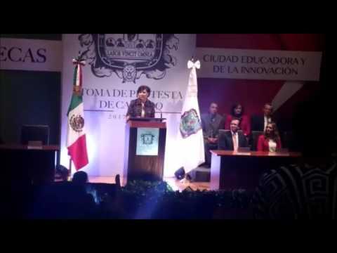 Da Judit Guerrero su primer mensaje como alcaldesa de la capital