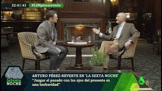 """Pérez-Reverte y América: """"Juzgar el pasado con ojos del presente es una barbaridad"""""""