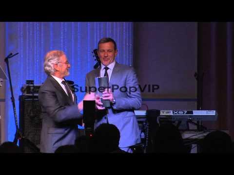 Steven Spielberg, Robert A. Iger at USC Shoah Foundation ...