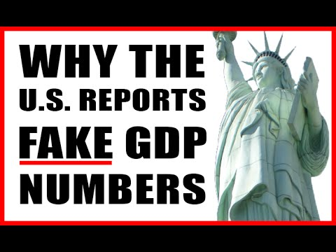 U.S. Economy DOWN, Stocks DOWN, GDP UP?
