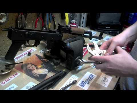 How to disassemble an AK-47/ Furniture removal