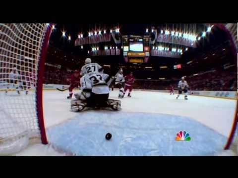 Jonathan Ericsson back breaker goal vs Kings Feb 10 2013