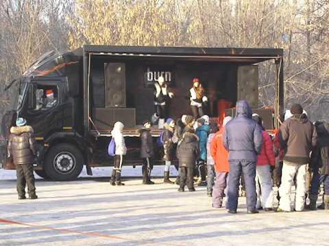 Кока Кола на 6 летии СДЮШОР Смертина в Барнауле 1